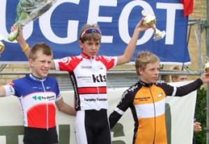 Mikkel Fenneberg efter hans hidtil bedste præstation.