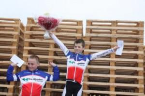 Sejrherre Mads Fenneberg og Alexander Kretzmann på 2. pladsen.