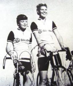 1982 Charlotte Quorp (t.v.) og Grete Møller.