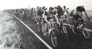 Tour de Als. Bent Westergaard (t.v.) i front.