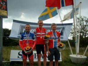 NM for veteraner. Nr. 1: Jens Lausten Hansen og nr. 2 Tom Bøttger