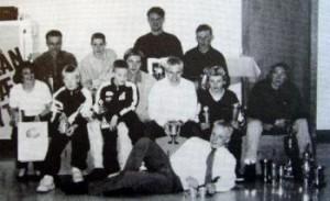 Pokalmodtagere til klubfest 1998.